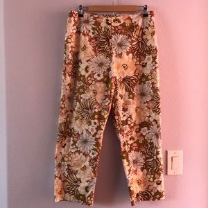 Multicolored Real Clothes cotton pants